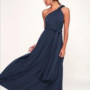 Lulu's Tricks of the Trade Maxi Dress